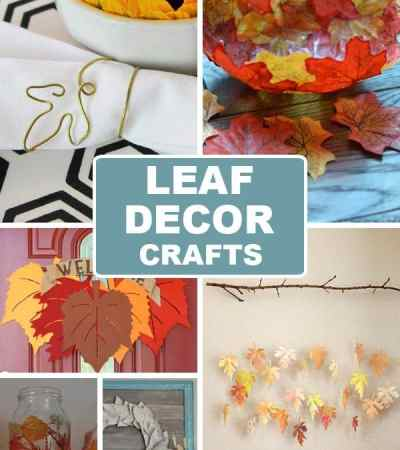Leaf Decor Crafts