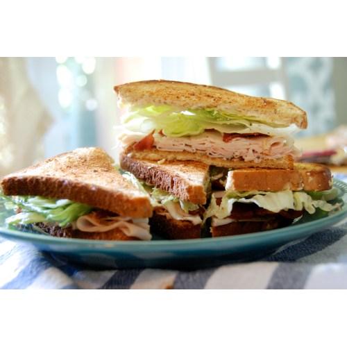 Medium Crop Of Turkey Club Sandwich