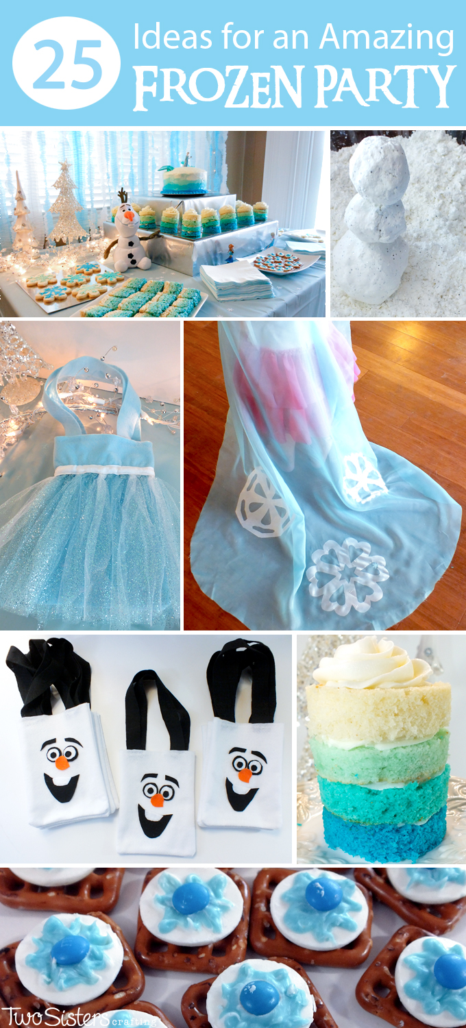 Party Highlights Ideen 25 Ideas For An Amazing Frozen Party Two Sisters