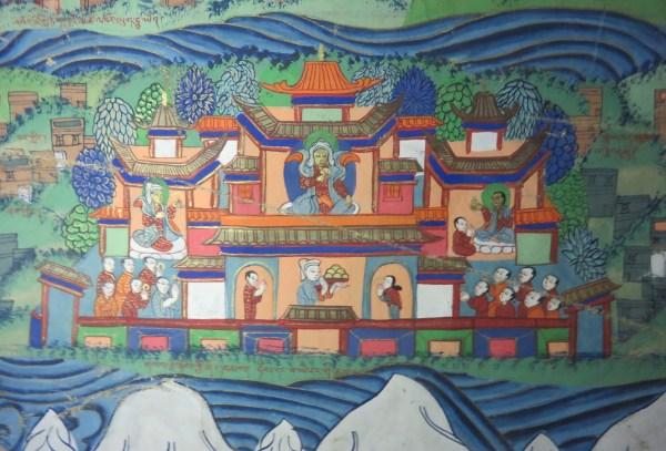 lower center left - gsas rje lhos kyi zhing khams