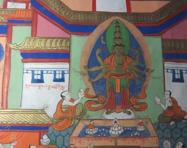 lower center palace - kun bzang rgyal ba