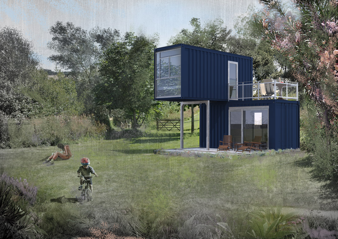 Container Wohnung Berlin Mieten Minimal Container Houses 2x20ft Experts In Container Architecture