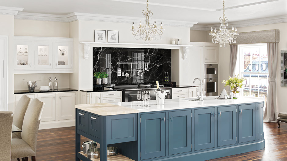 Two Tone Kitchen Cabinets Kitchens - Modern & Traditional Bespoke Made Kitchens