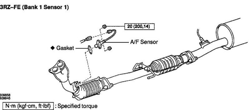 2002 toyota 4runner oxygen sensor