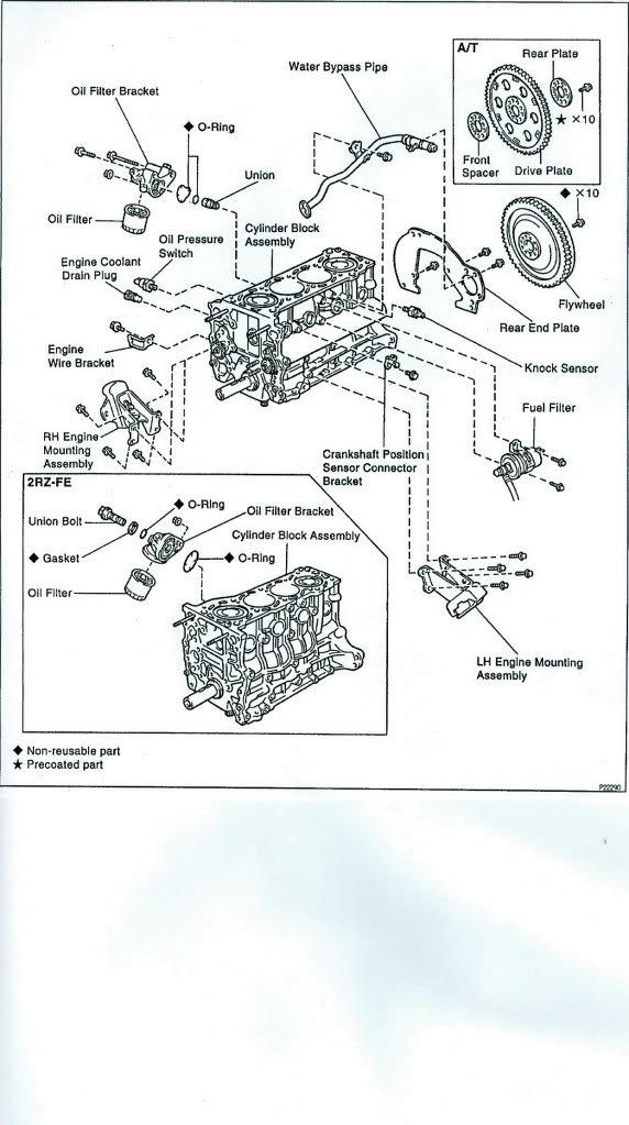 2004 toyota tacoma 2.7 fuel filter