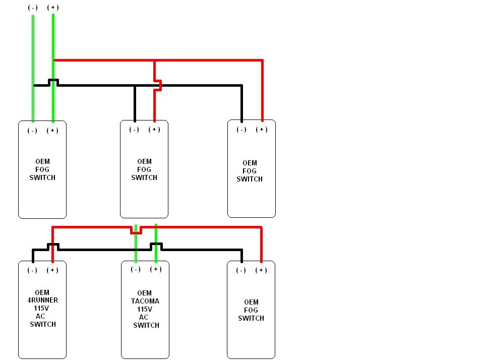 pro comp light wiring diagram