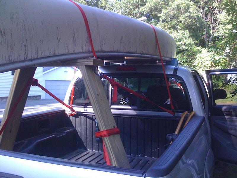 Anyone Haul A Canoe On Their Truck Tacoma World