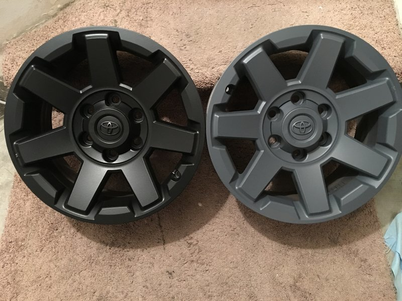 Has Anyone Powdercoated The Oem Trd Wheels Page 3