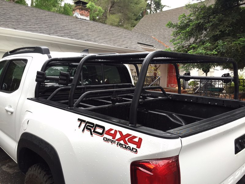 2016 All Pro Pack Rack Bed Rack Gear Rack Tacoma World