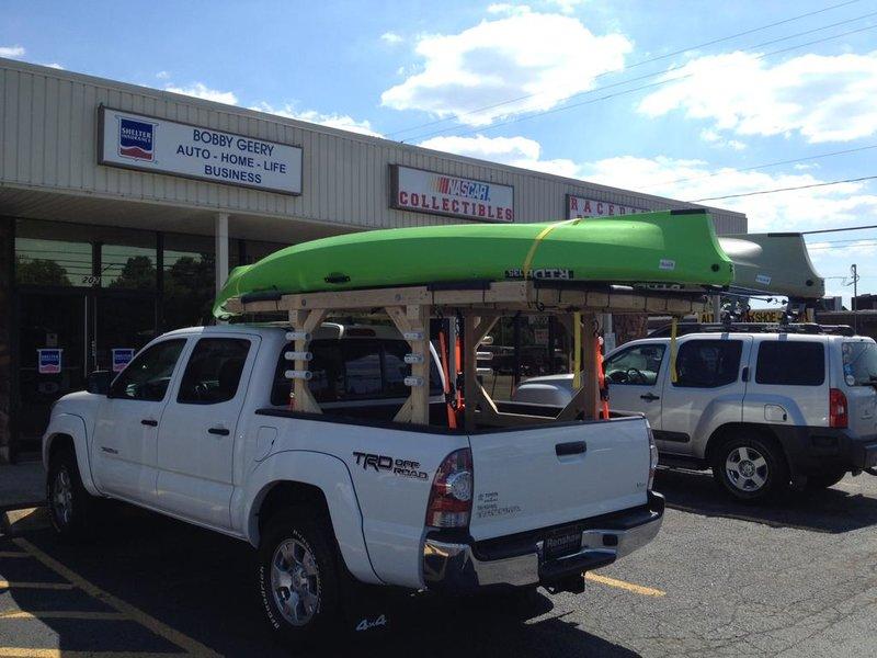 Diy Roof Rack For Kayaks Tacoma World
