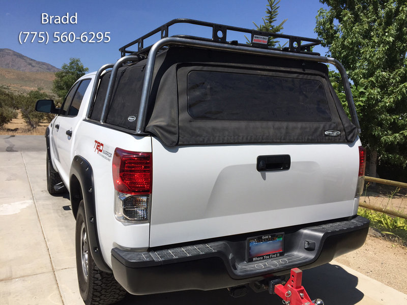 Bed Rack Over Soft Top Tacoma World