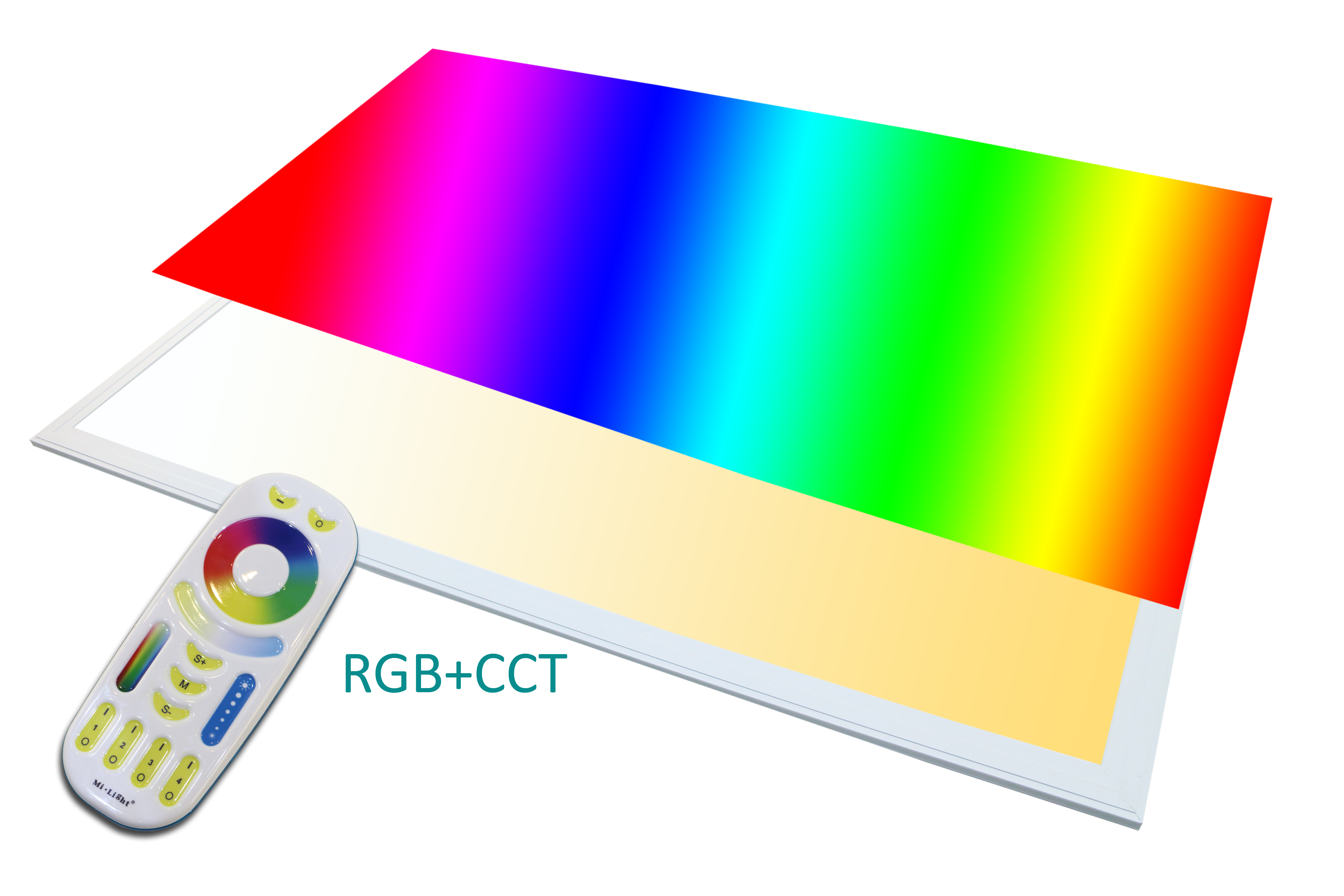 Led Panel Mit Fernbedienung Txl24 Led Panel Rgb 120x60 Plus Ww Cw 60 Watt Dimmbar Und Alle
