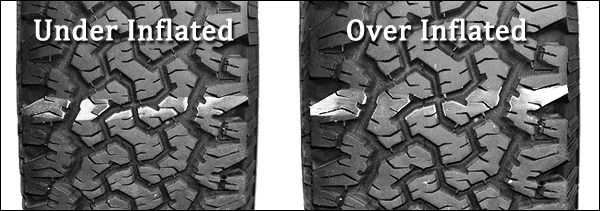 Jeep Tire Pressure for Oversized Tires at txtire