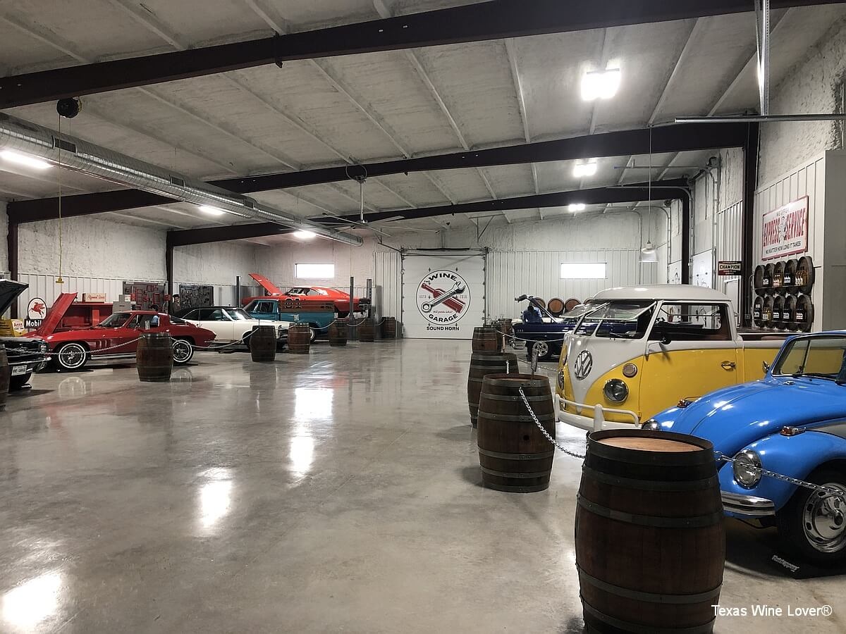 Garage Automobile Tours The Wine Garage Texas Wine Lover