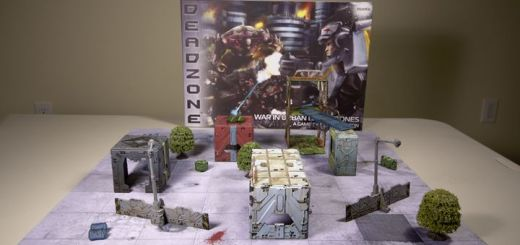 Airbrushed Deadzone Terrain