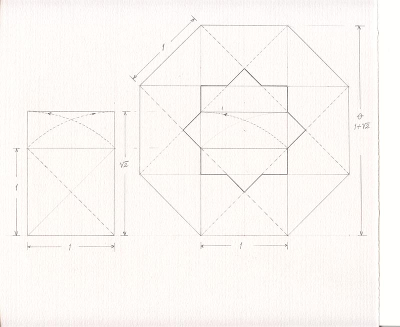 octagon on graph paper - Ozilalmanoof