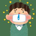 花粉症マスクイラスト