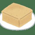 高野豆腐のイラスト