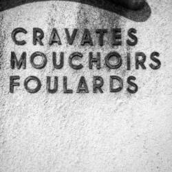 Great type find by  @jsduchaine ??? Cravates/mouchoirs/foulards #vintagesigns #type #tv_retro #urbandecay #typorama #retrotype #ahuntsic #cravate #mouchoir #foulard #typematters #typelover #vintagestore #tie #tv_typography #jj_texttypographical