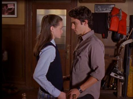 Image result for rory and jess gilmore girl
