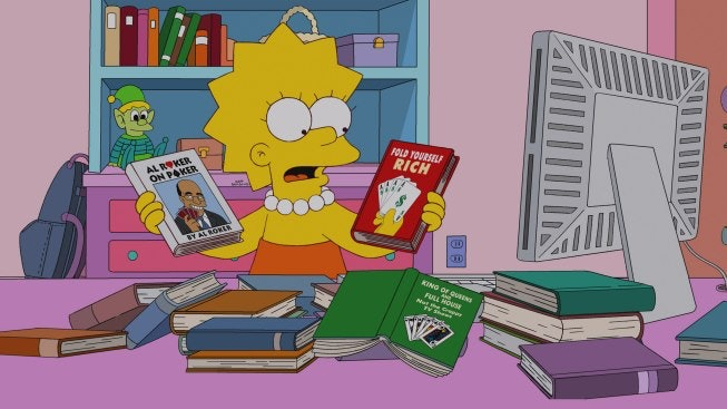 Libro Poker 11 Books You'd Find On Lisa Simpson's Shelf, Because Your