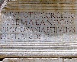 Caractere romane