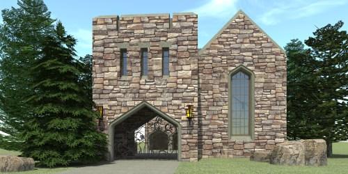 Medium Of Castle House Plans