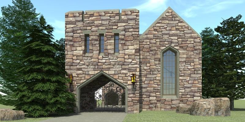 Large Of Castle House Plans