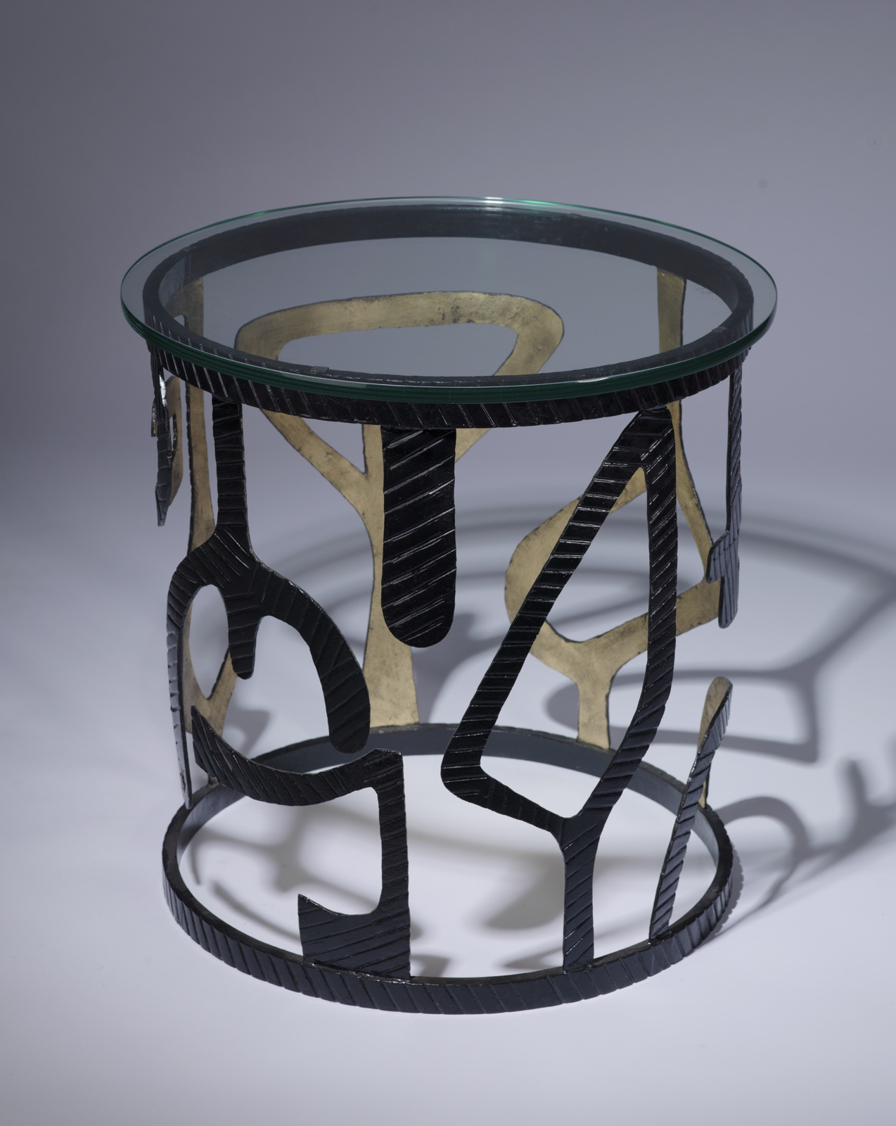 Unusual Accent Tables Pair Of Unique Modern Wrought Iron 39miro 39 Side Tables In