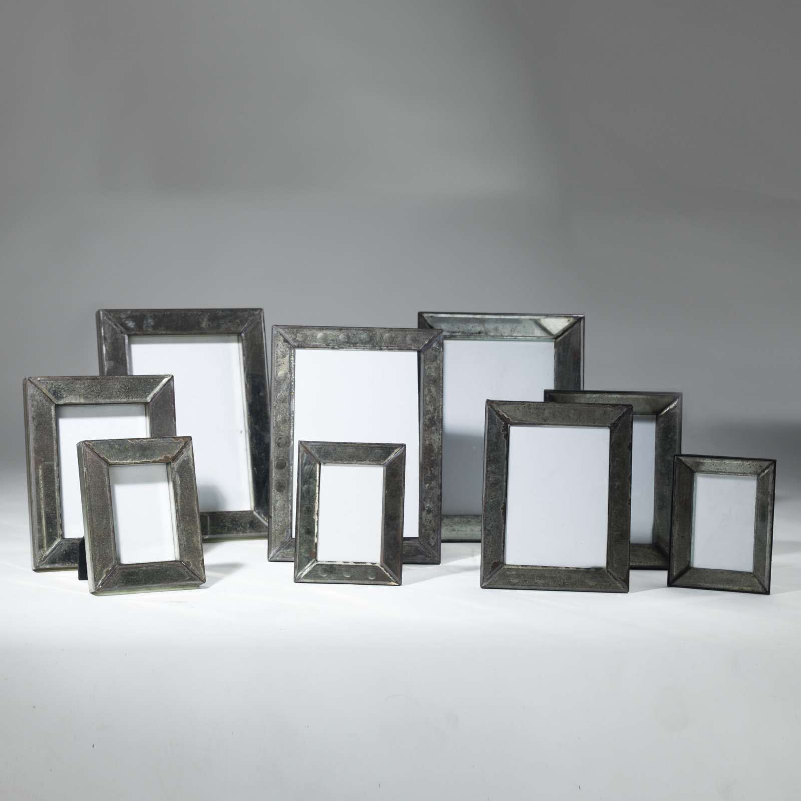 Mirrored Picture Frames Set Of 3 Mirrored Picture Frames T3999 Tyson London