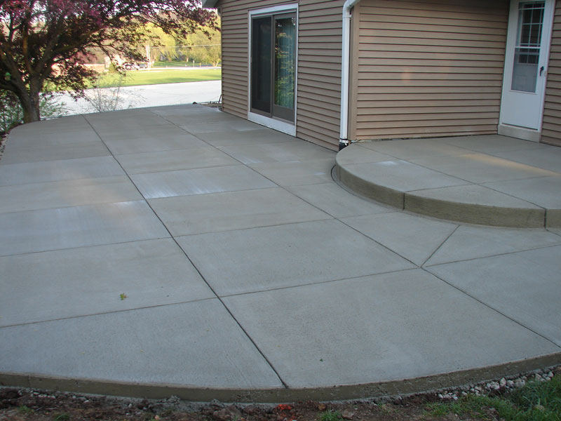 Why Concrete Is The Best Option For A Patio Steve39s U