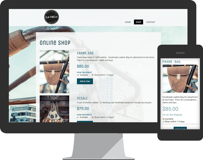 Create a Free Website with our Website Builder - Jimdo