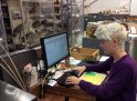 work desk of Chelsea Hothem at the MBD
