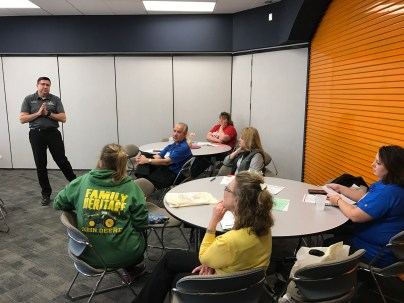 David Marrison taught a double session on Farm Transition and Family Communication.