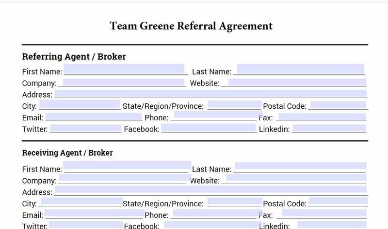 Rexburg Real Estate Agent Referral Agreement