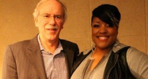 Anita Wilson with Ken Pennell (President, Gospel Music at Capitol Christian Music Group)