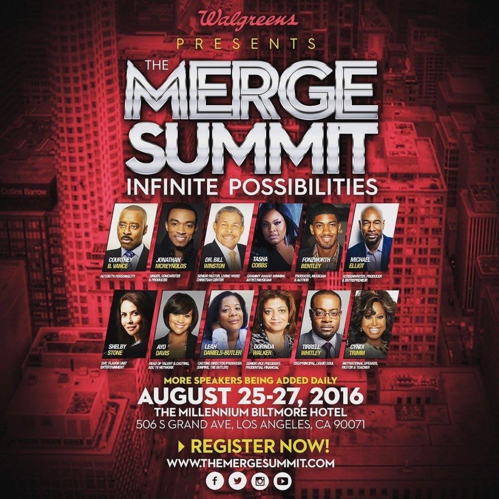Michelle Williams, Kirk Franklin, Meagan Good And More To Appear At The 2016 Merge Summit