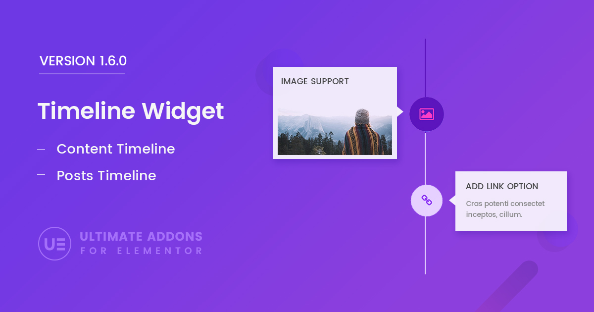 Elementor Timeline Widget \u2013 Ultimate Addons for Elementor