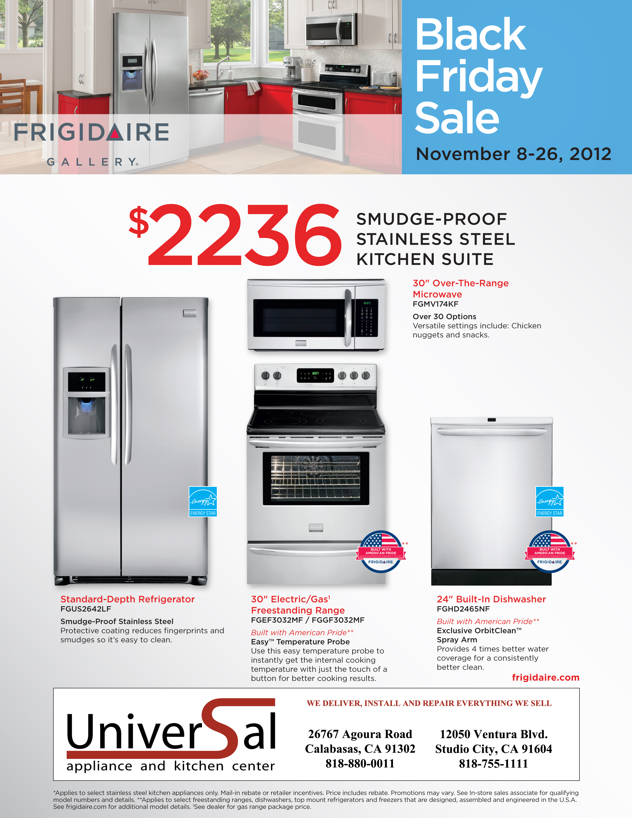 Appliances Packages Sale Black Friday Appliance Package Specials Universal Appliance And