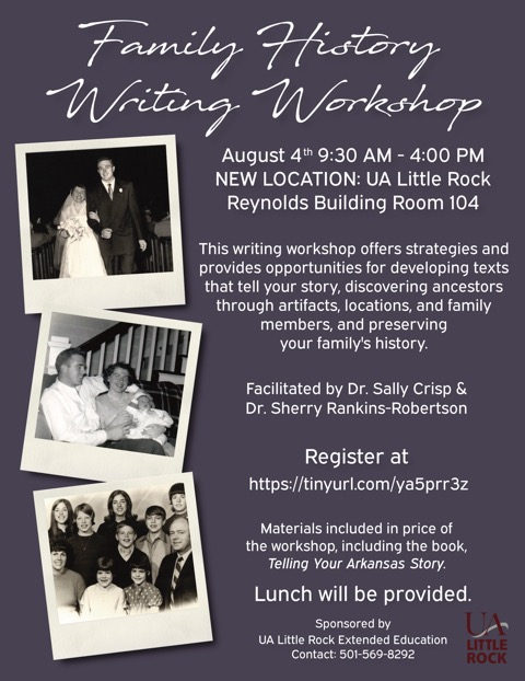 UA Little Rock to offer workshop on writing family stories - News