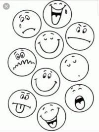 Faccine Delle Emozioni Da Colorare Qj91 Regardsdefemmes