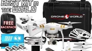 phantom 3 bundle review drone world