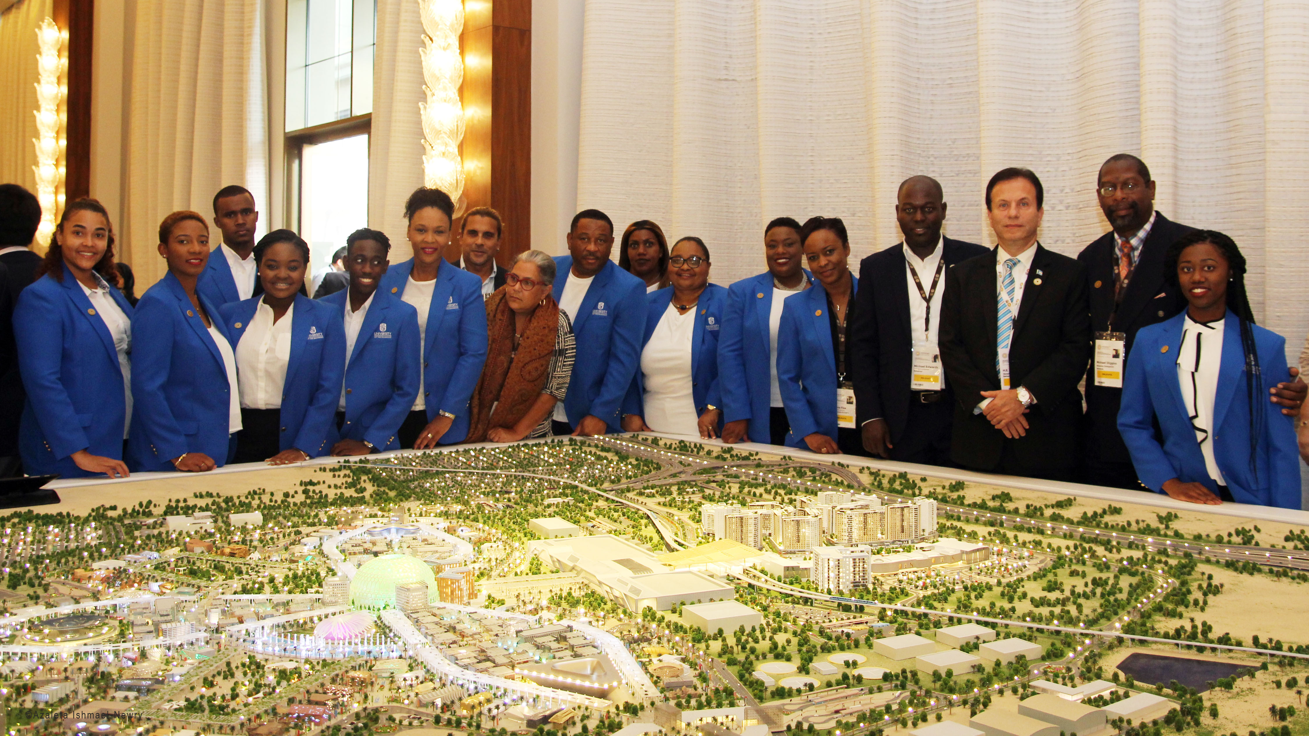 Pavillon Bahama Pavilion Designed By University Of The Bahamas Students Becomes