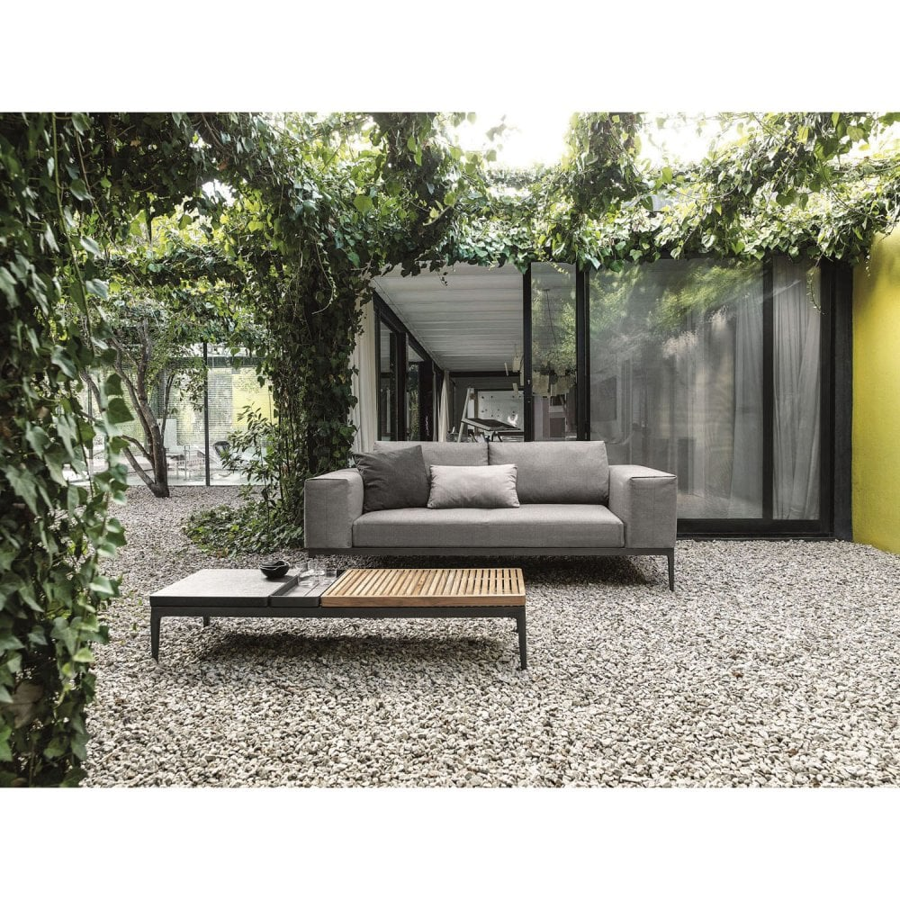 Mobilier Exterieur Gloster Gloster Grid Sofa