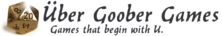 Über Goober Games Logo