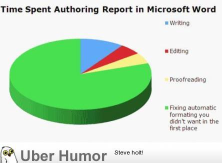 Good old Microsoft Word Funny Pictures, Quotes, Pics, Photos