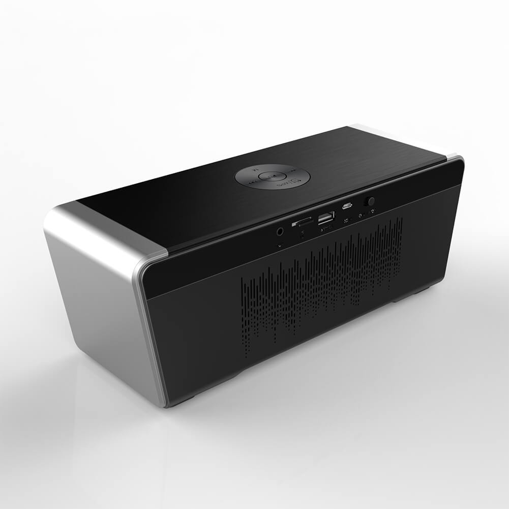 Hifi Bluetooth Hifi Bluetooth Speaker With 5000mah Battery