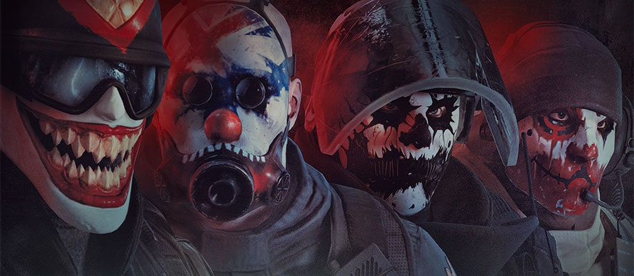Anime Wallpapers Hd New Tab Themes 2017 Scary Clown Set Rainbow Six 174 Siege Game News Amp Updates