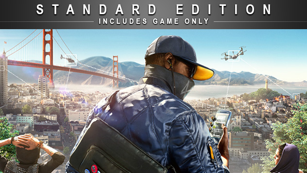 3d Watch Wallpaper Ubisoft Watch Dogs 2