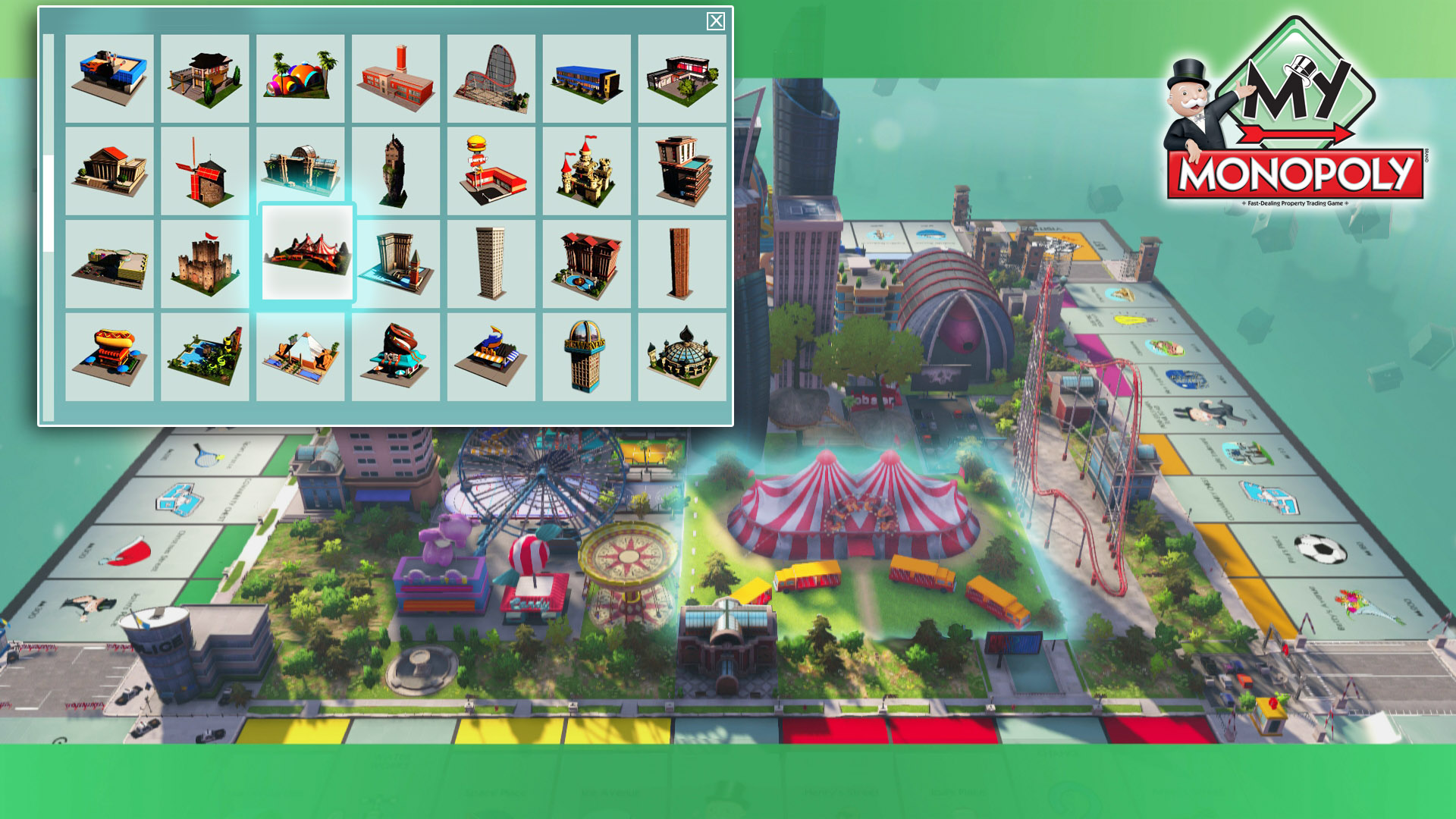 Create Own Name 3d Wallpaper Ubisoft My Monopoly